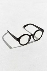 Urban Outfitters Large Round Readers Black