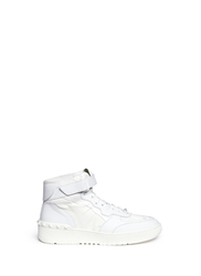 Valentino 'Rockstud' Camouflage Leather Sneakers
