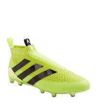 Adidas Ace 16 Pure Control Firm Ground Boots Male Yellow