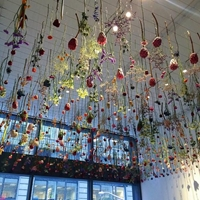 16 000 Flowers Become A Living Sculpture The Creators Project