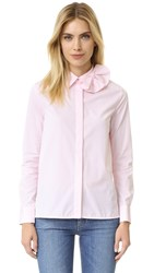 Victoria Beckham Single Bow Shirt Pale Candy