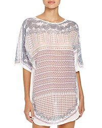 Naked Mosaic Georgette Tunic W226308 Exotic Mosaic
