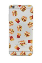 Forever 21 Burger Case For Iphone 6 6S Clear Multi