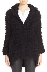 Atm Anthony Thomas Melillo Hooded Cardigan Black