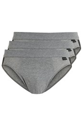 Schiesser Essentials Cotton 3 Pack Briefs Anthrazit Anthracite