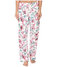 Jockey Printed Long Pants Autumn Garden Women's Pajama Multi