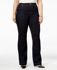 Inc International Concepts Plus Size High Waist Flare Leg Jeans Only At Macy's Bronzed Camel