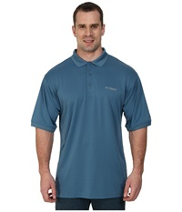 Columbia Perfect Cast Polo Tall Blue Heron Men's Clothing