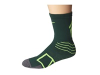 Nike Elite Baseball Crew Sock Gorge Green Flash Lime Crew Cut Socks Shoes