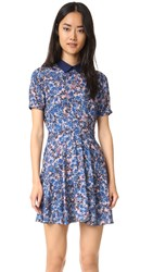 Rebecca Minkoff Rachel Dress Forget Me Not Multi