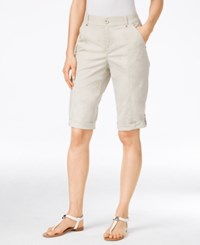 Styleandco. Style Co. Cuffed Bermuda Shorts Only At Macy's Stonewall