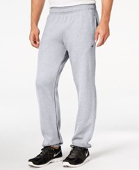 Champion Men's Powerblend Fleece Relaxed Pants Oxford Gray