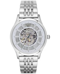 Emporio Armani Men's Automatic Beta Stainless Steel Bracelet Watch 43Mm Ar1945 No Color