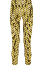 Fendi Printed Stretch Jersey Leggings