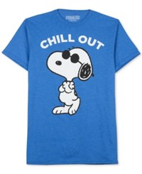 Jem Peanuts Please Don't Kill My Chill T Shirt Royal Heather