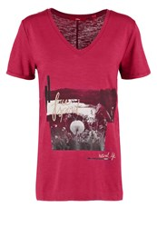 S.Oliver Print Tshirt Summer Berry