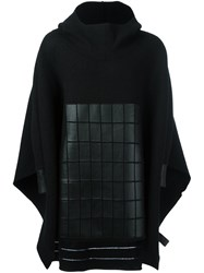 Y 3 Hooded Cape Black