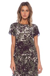 Ulla Johnson Tatiana Blouse Army