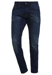 Esprit Slim Fit Jeans Medium Wash Dark Blue Denim