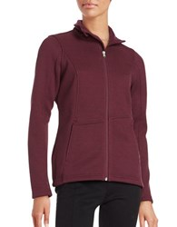 Spyder Endure Textured Mockneck Jacket Fini