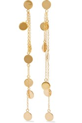 Arme De L'amour Gold Plated Earrings