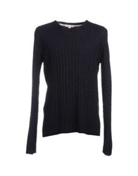 Suit Crewneck Sweaters Dark Blue