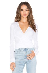 Lamade Orian Tie Front Top White