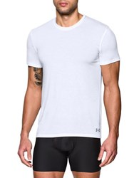 Under Armour 2 Pack Undershirts White