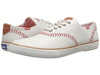 Keds Champion Baseball Leather Natural Men's Lace Up Casual Shoes Beige