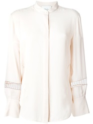 3.1 Phillip Lim Ladder Embroidery Blouse Nude And Neutrals