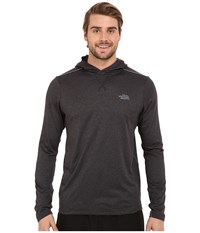 The North Face Reactor Hoodie Tnf Dark Grey Heather Tnf Black Men's Sweatshirt