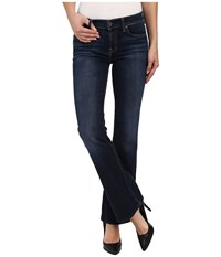 7 For All Mankind Bootcut Short Inseam In Nouveau New York Dark Nouveau New York Dark Women's Jeans Blue