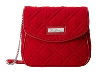 Vera Bradley Chain Strap Crossbody Tango Red W Red Trim Cross Body Handbags