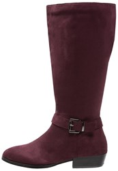 Evans Boots Red Bordeaux