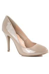 Alice And You Court High Heel Shoes Nude