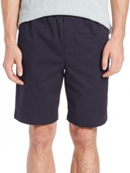 Vince Mateo Cotton Twill Pull On Shorts Coastal Grey