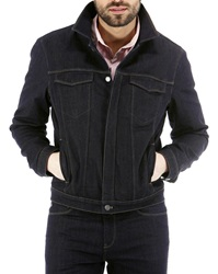 New Man Denim Jacket With Quilted Lining