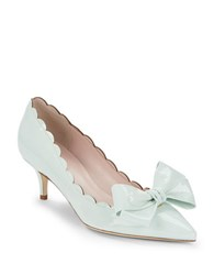 Kate Spade Maxine Patent Leather Pumps Mint Green