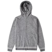 Nanamica Sweat Parka Grey