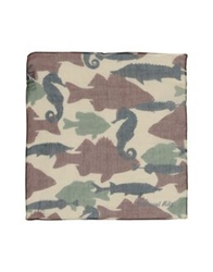 Manuel Ritz Square Scarves Military Green
