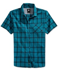 Element Short Sleeve Shirt Harbor Blue
