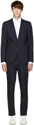 Tiger Of Sweden Navy Nedvin Suit