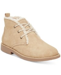 Seven Dials Mallori Chukka Faux Fur Lined Booties Women's Shoes Natural