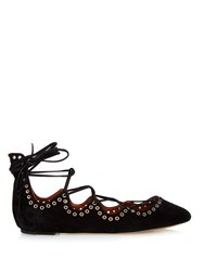 Isabel Marant Leo Lace Up Ballet Flats