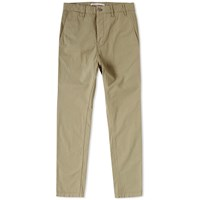 Norse Projects Aros Slim Light Twill Chino Green