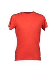 Bowery Short Sleeve T Shirts Red