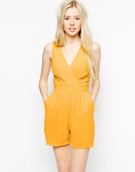 Wal G Playsuit Yellow