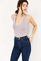 Truly Madly Deeply Voop Tank Top Lavender