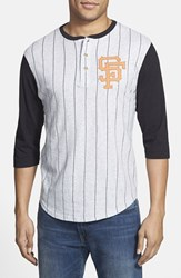 Men's Red Jacket 'San Francisco Giants Double Play' Jersey Henley