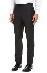 Strong Suit Men's Dagger Flat Front Formal Wool Trousers